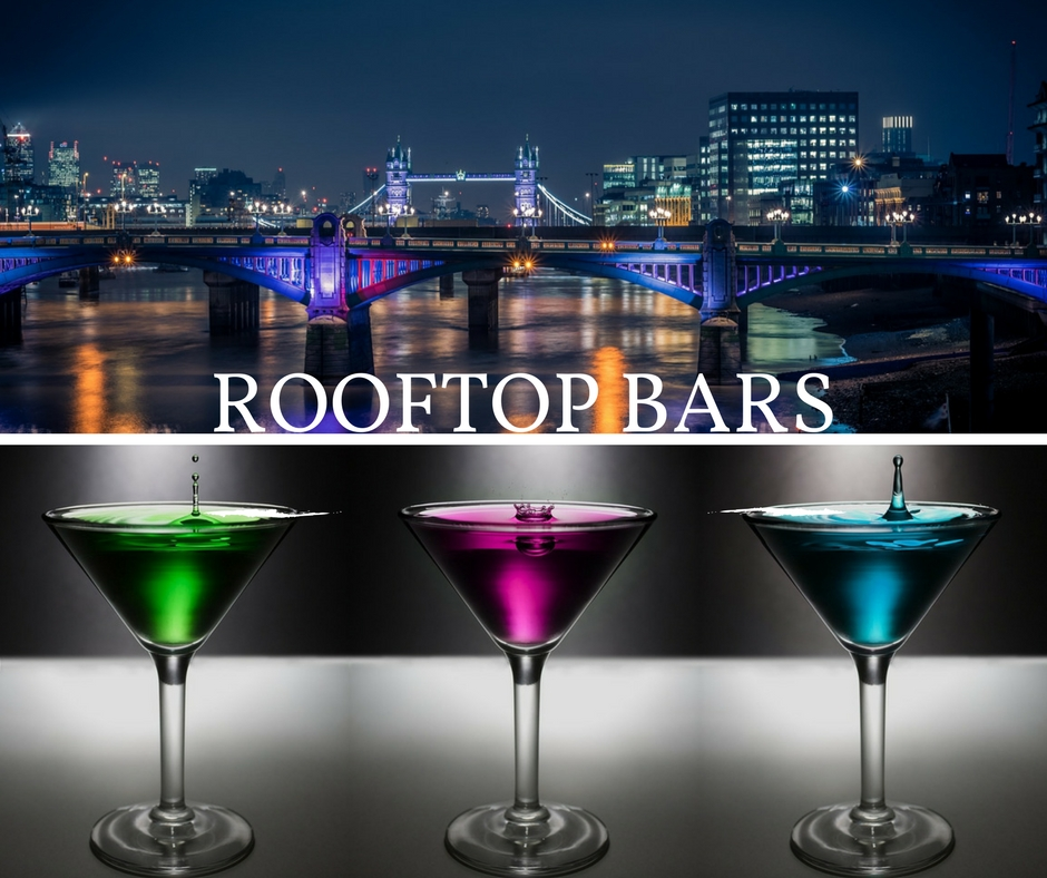 ROOFTOP BARS LONDON