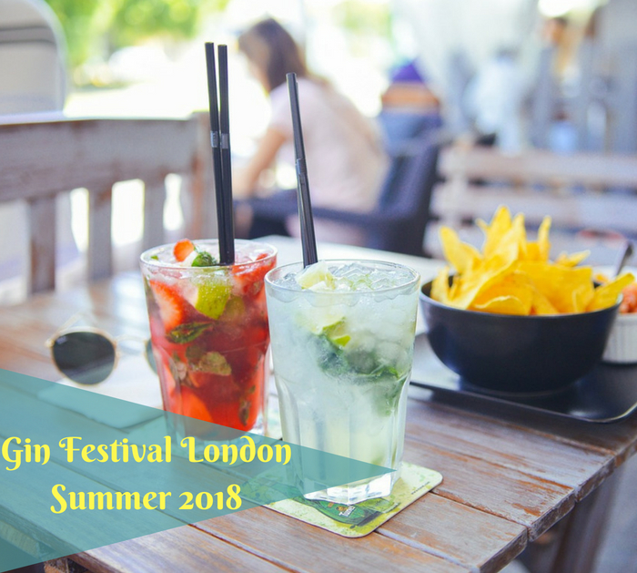 Gin Festival London Summer 2018